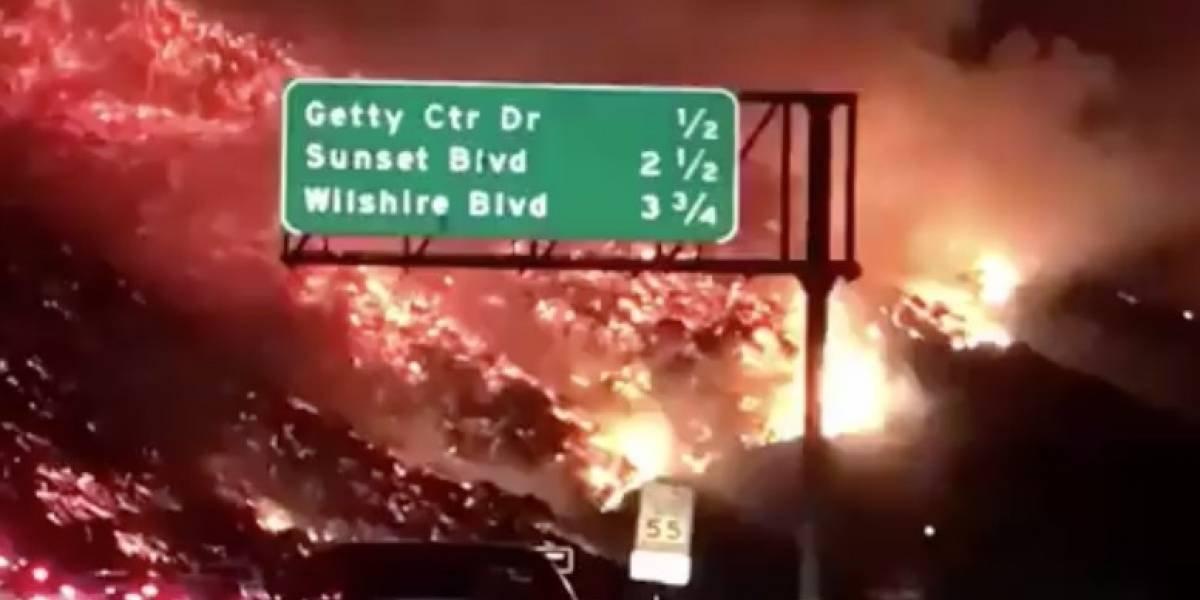 Vientos en incendios en California alcanzan niveles inéditos