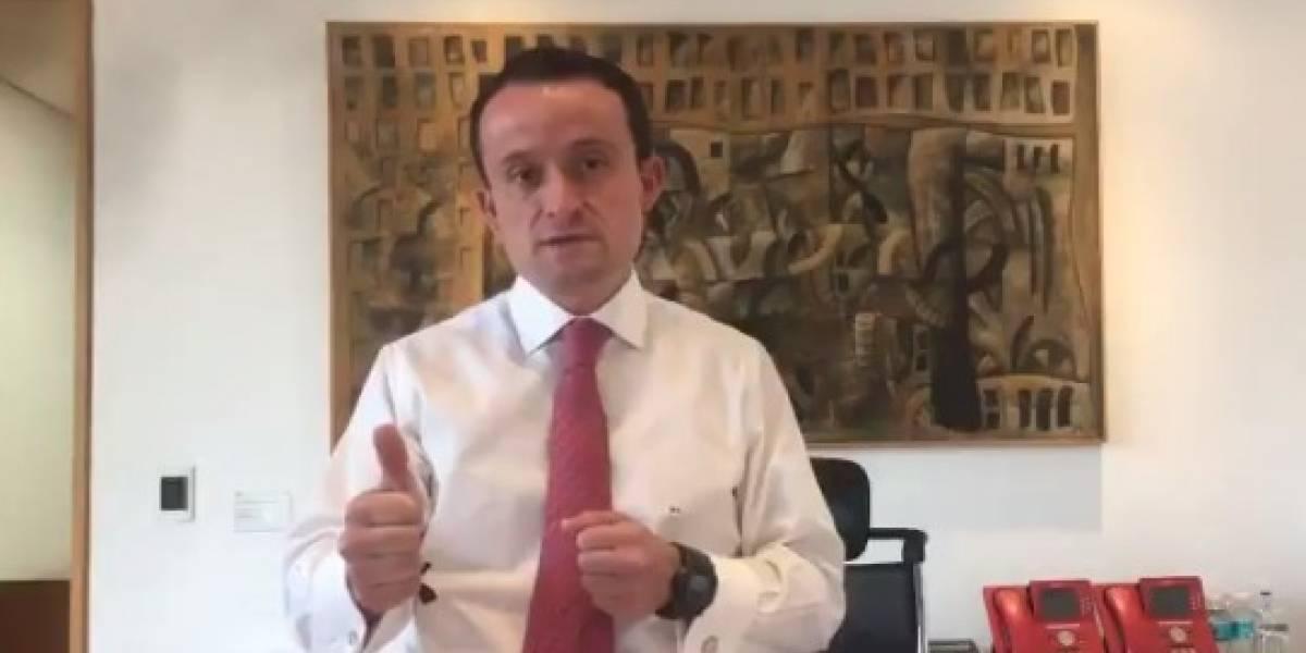 Voy a registrarme como precandidato a Jefe de Gobierno de la CDMX: Arriola