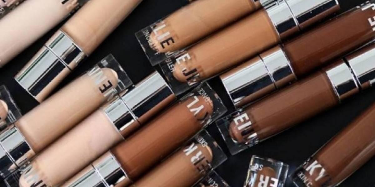 Marca de Kylie Jenner lança 30 tons de corretivos para a pele