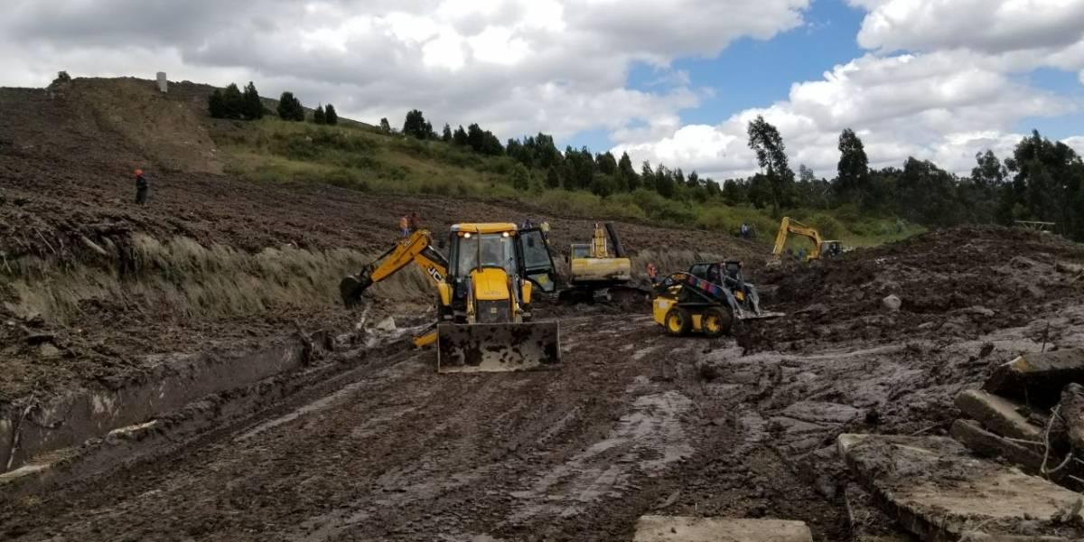 Deslave en El Troje afectó el 40% de la producción de agua en Quito