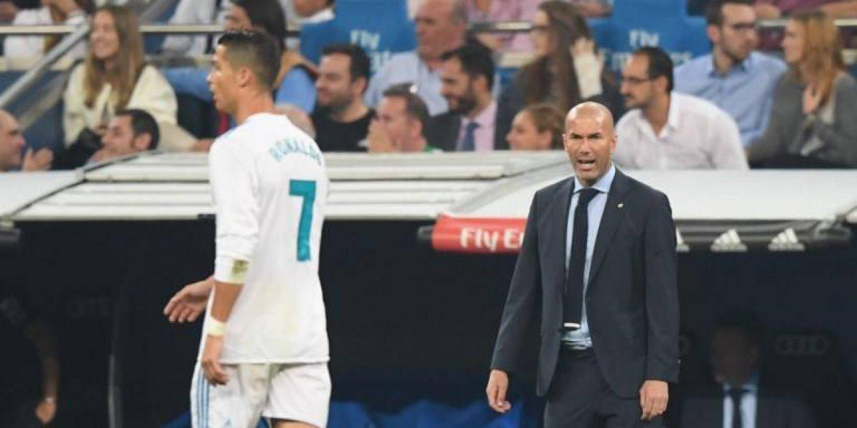 """Zidane le cree a Cristiano Ronaldo: """"Es el mejor de la historia del fútbol"""""""