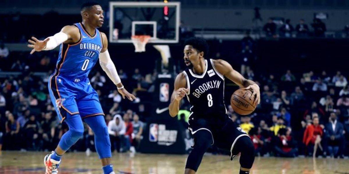 La NBA deslumbró a México con partidazo Thunder-Nets