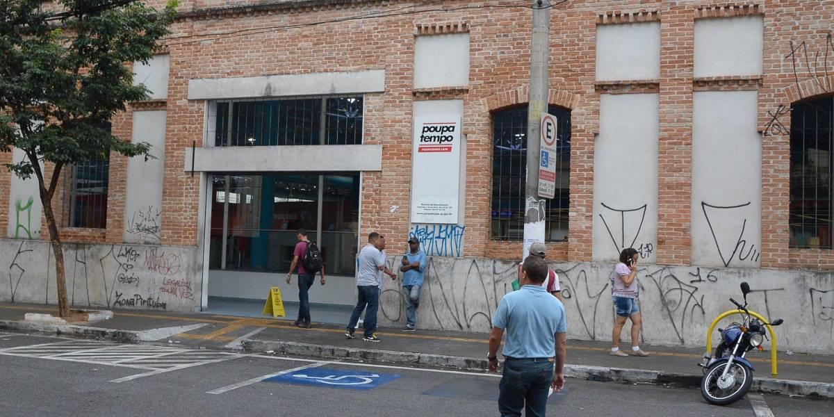 Agência dentro do Poupatempo da Lapa é assaltada; três suspeitos fugiram