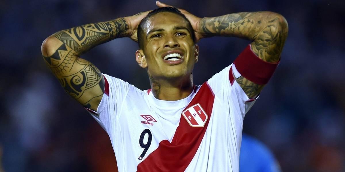 FPF se solidariza con delantero peruano — Paolo Guerrero