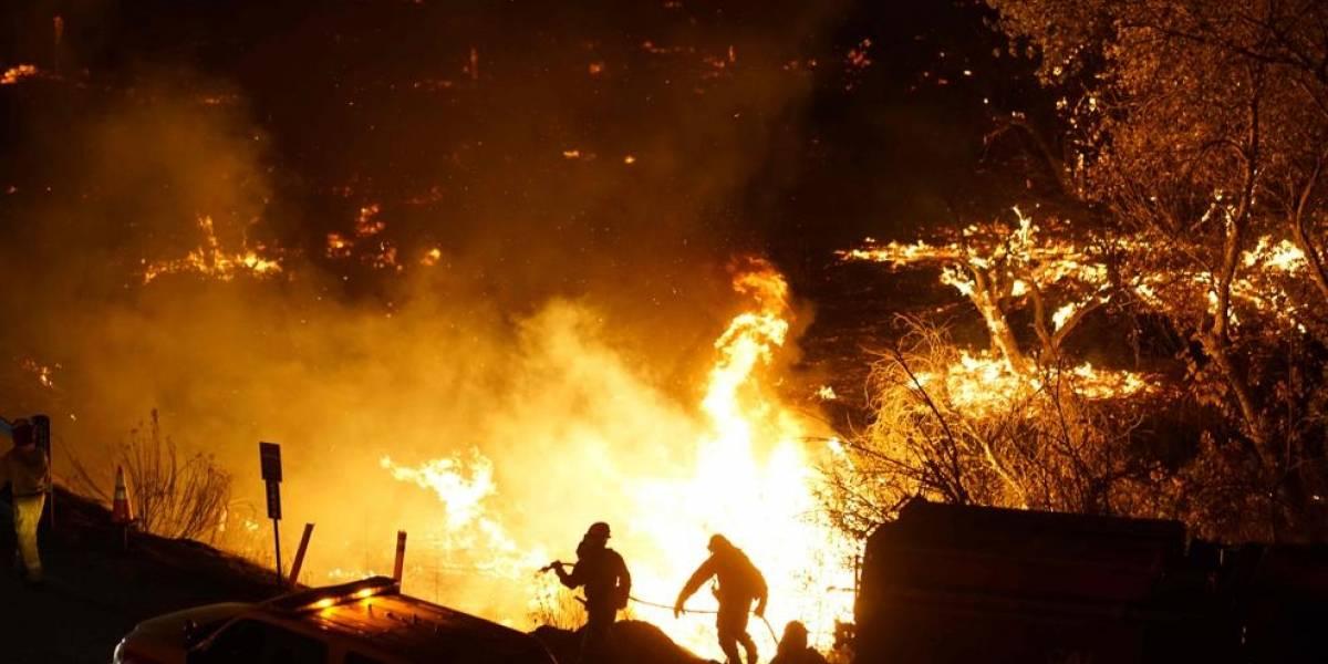 California en estado de emergencia debido a los incendios