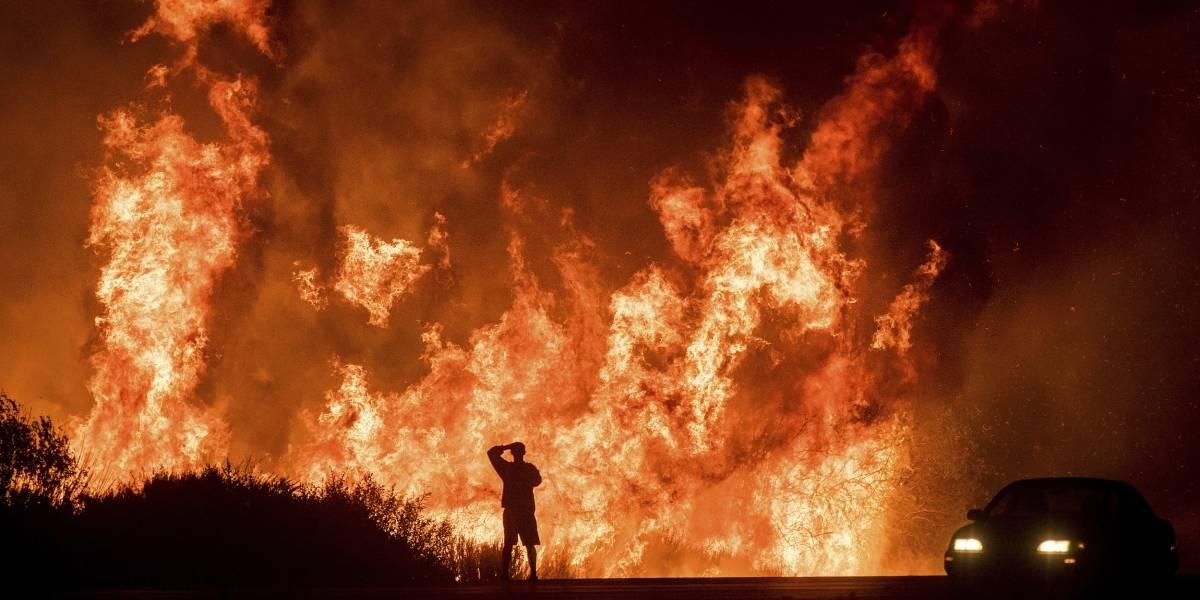 California: avanzan los incendios en San Diego