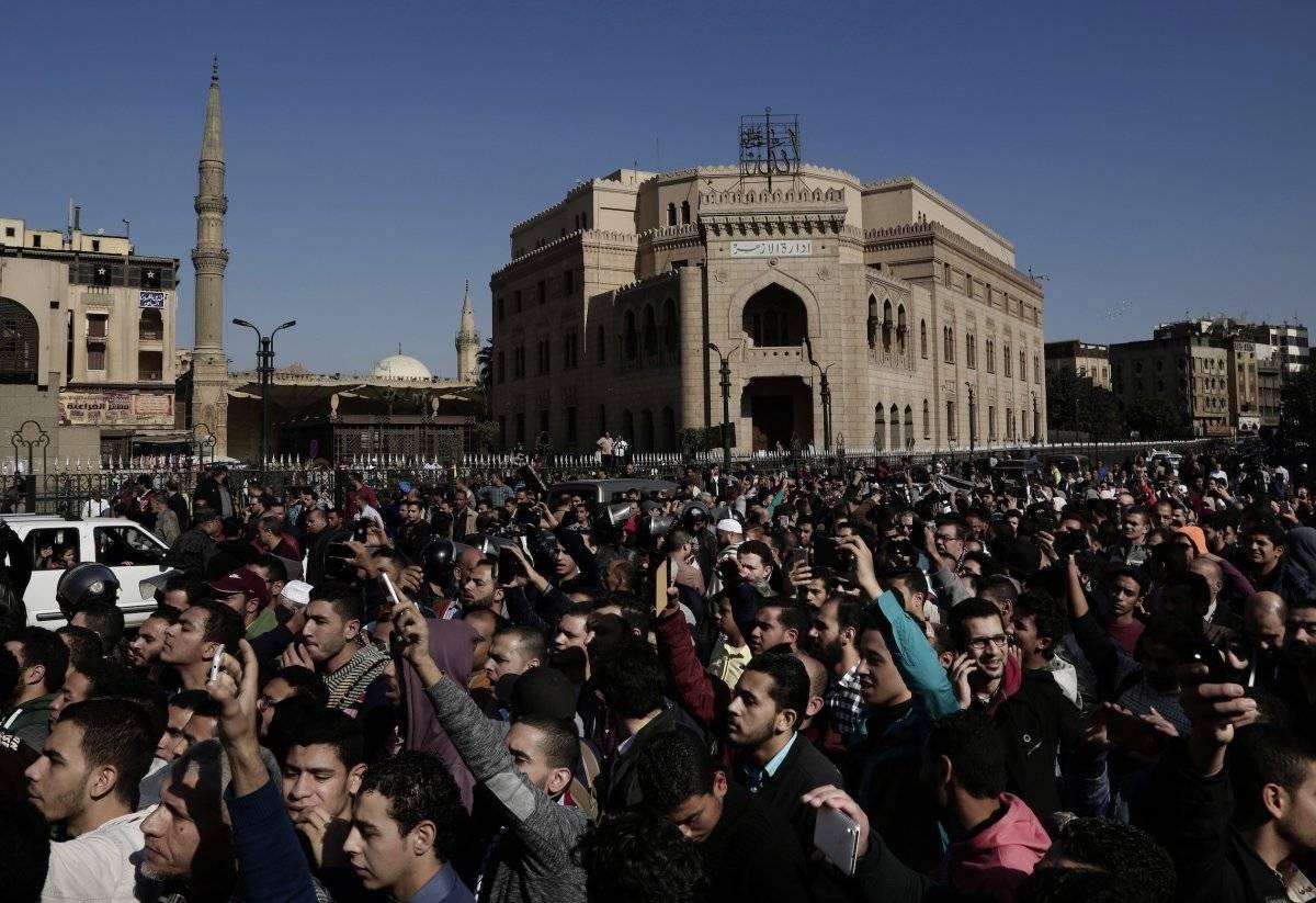 En el Cairo, Egipto Foto: AP