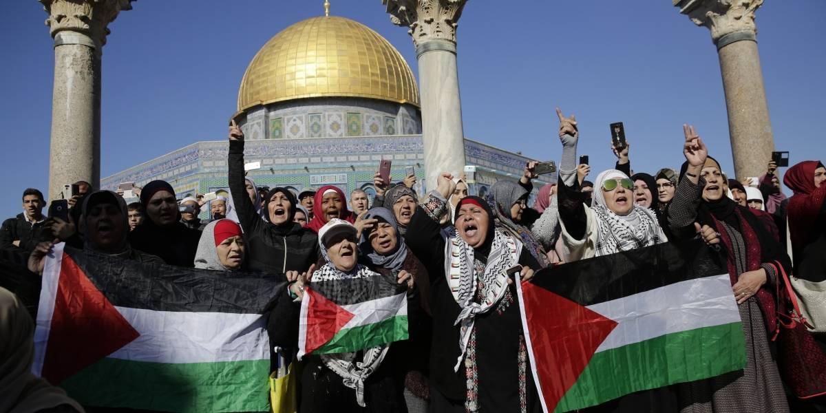 Medio Oriente se enciende en protestas contra el reconocimiento de Jerusalén