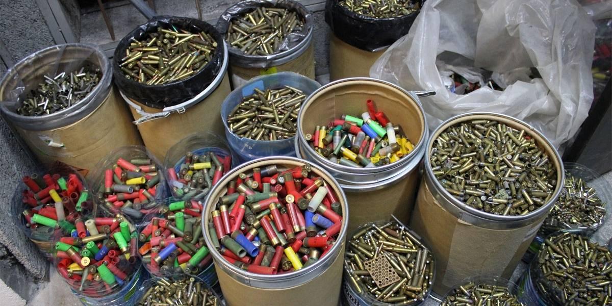 Secretaria de Segurança Pública de SP e Exército destroem 3 toneladas de munição