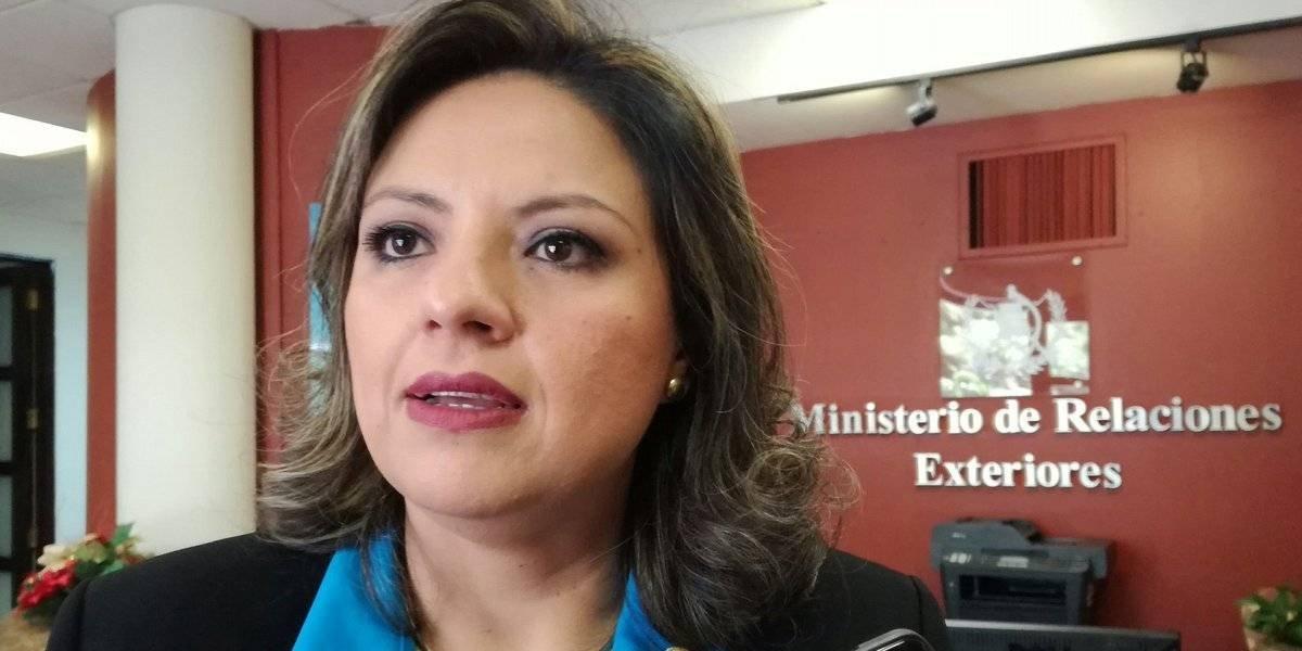 Diputados podrían sumarse a la interpelación de la canciller Sandra Jovel