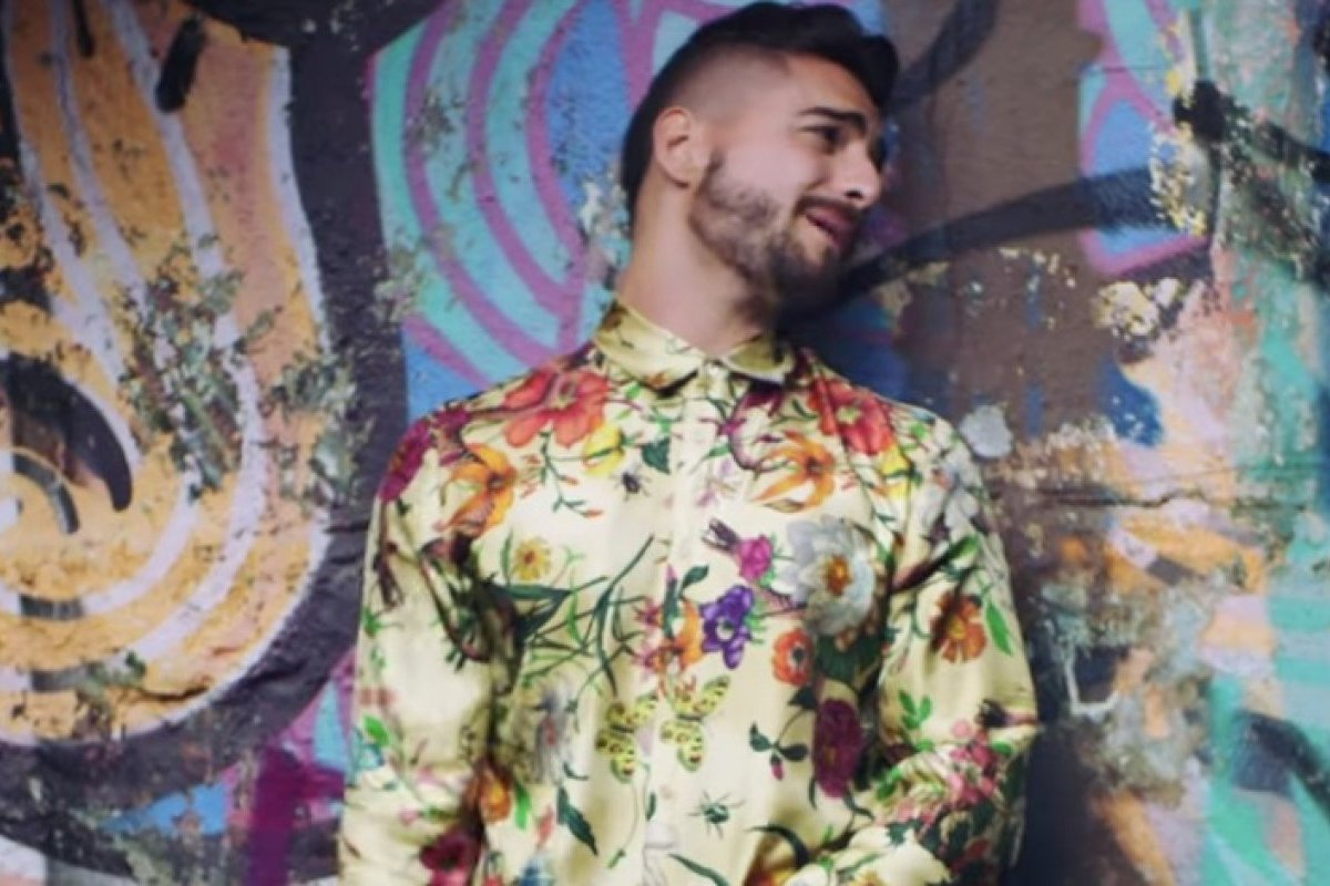 Maluma arriesga la vida durante filmación de video musical