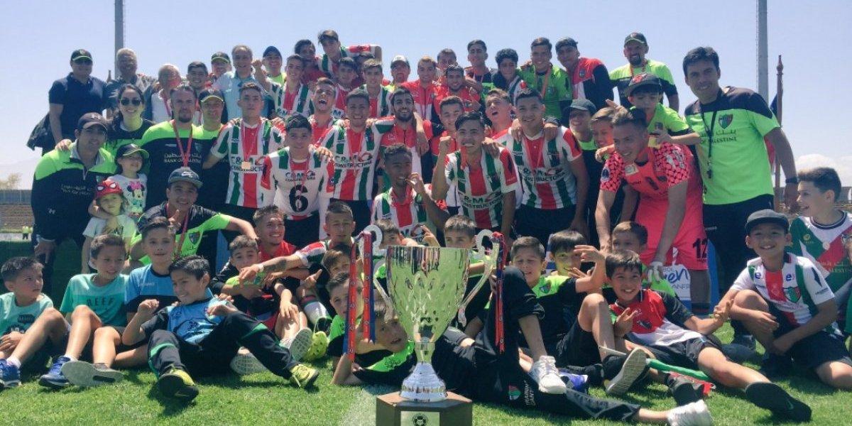 Palestino es el nuevo campeón del fútbol joven tras vencer a Everton