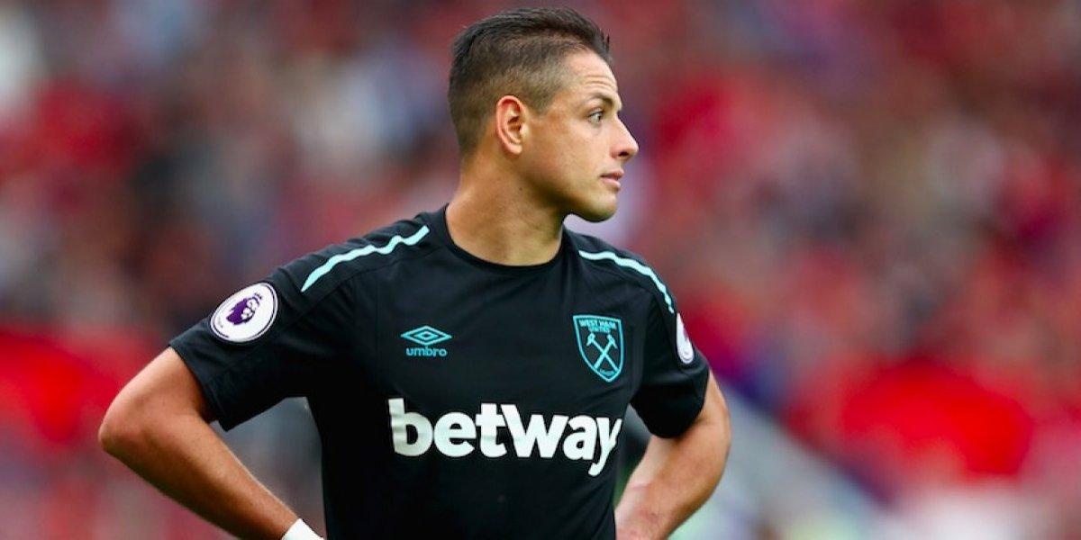 West Ham, arrepentido por fichar a 'Chicharito' Hernández