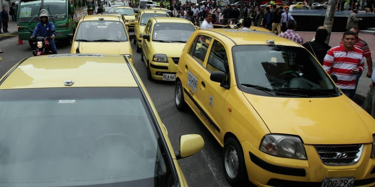Estas serán las tarifas de taxi en Bogotá con el taxímetro con aplicación