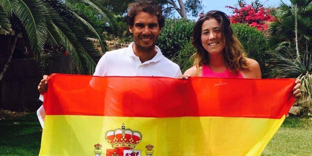 Nadal y Muguruza, mejores tenistas del 2017