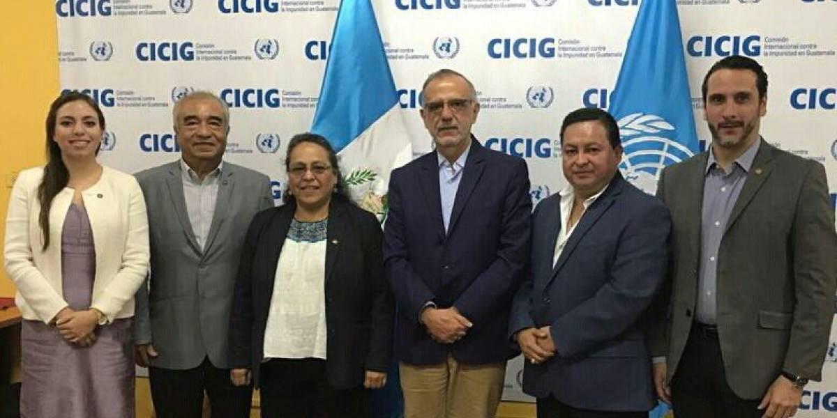 Frente Parlamentario por la Transparencia se reúne con el jefe de CICIG