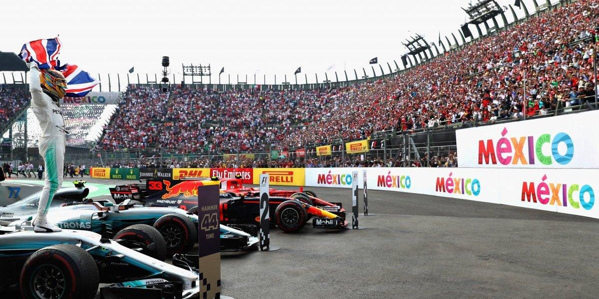 Nombran GP de México evento del año por tercer año consecutivo