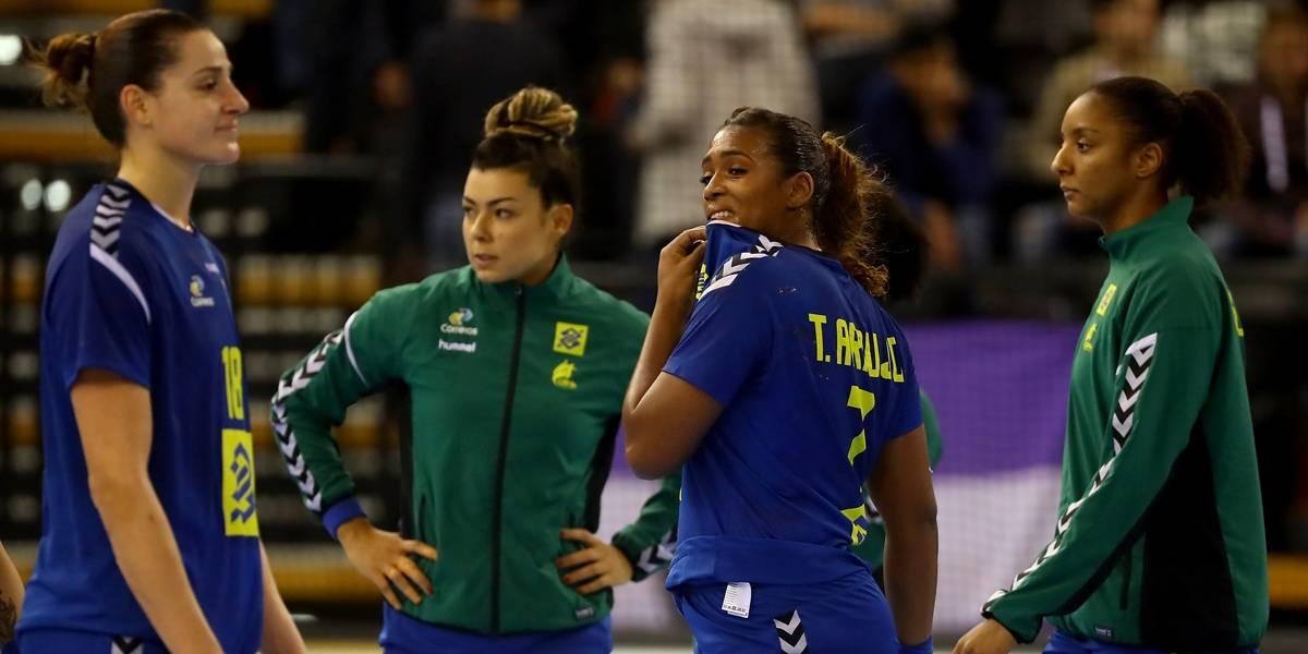Brasil empata com Montenegro e está eliminado do Mundial de Handebol