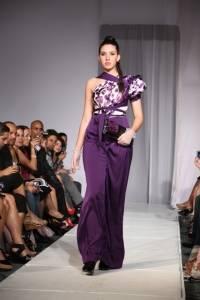 Vestido de la diseñadora Maritza Camarero / Suministrada