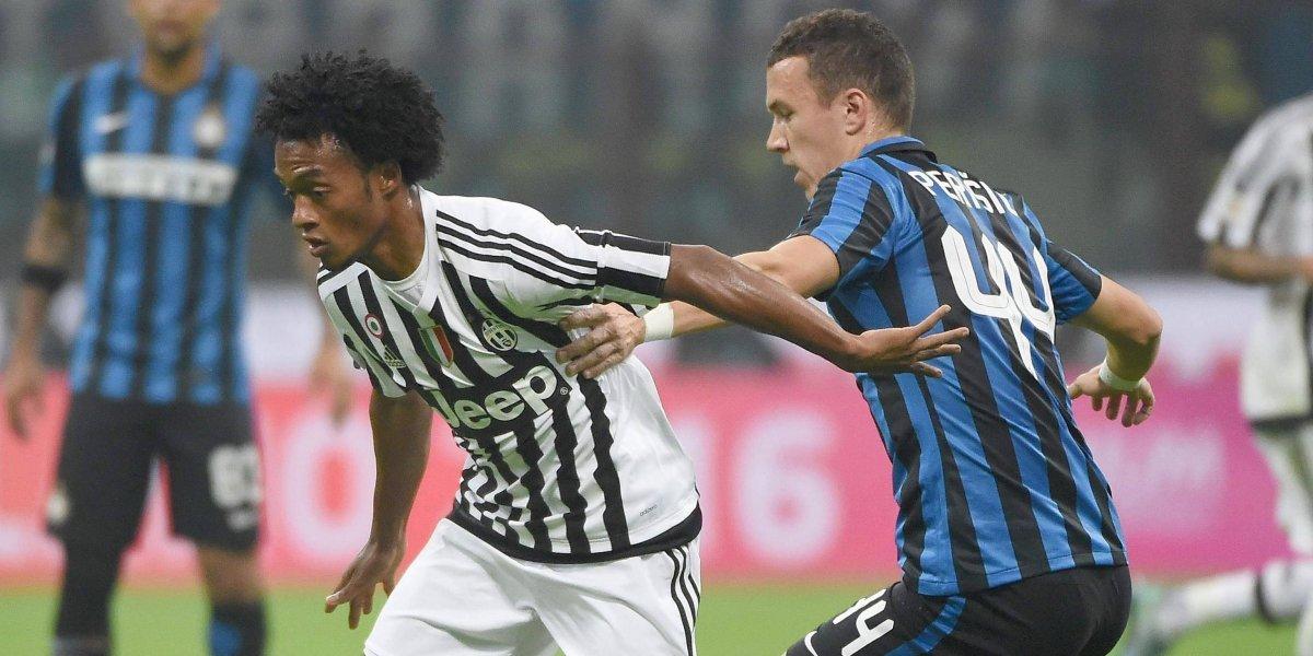 Italia se paraliza con el derbi entre Juventus e Inter