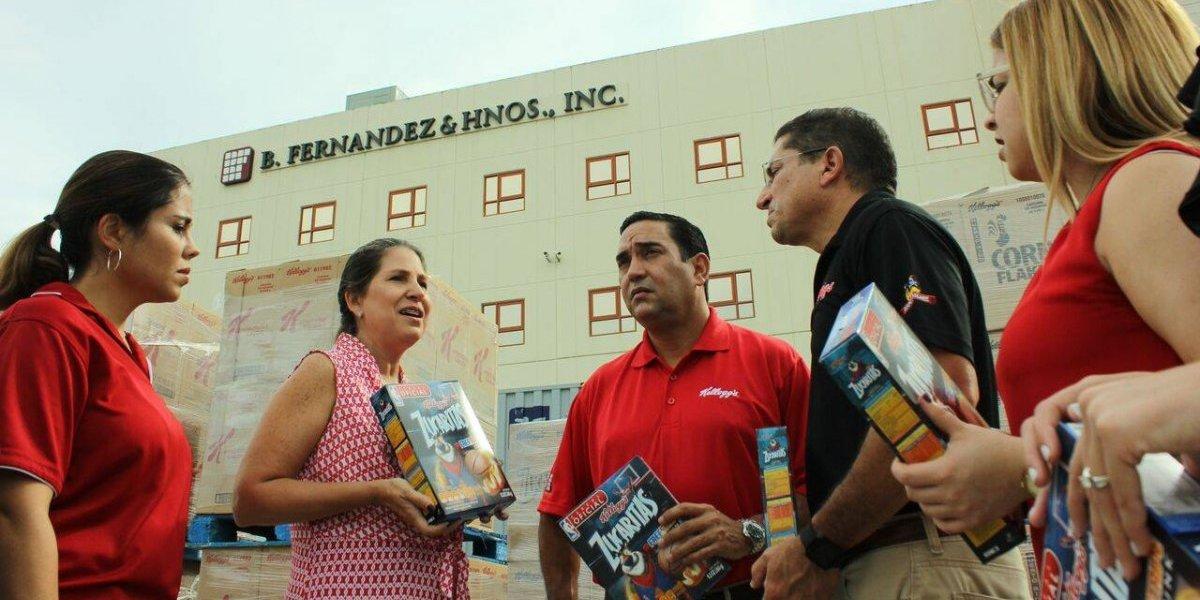Kellogg's dona más de un millón de desayunos a Puerto Rico