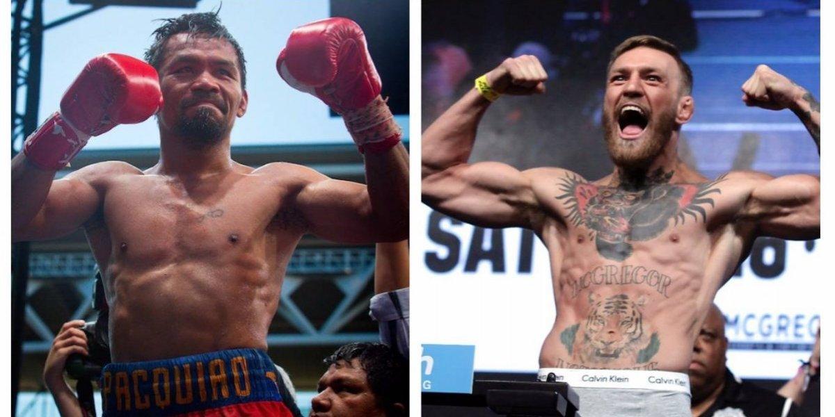 Pacquiao revela que negocia pelea contra Conor McGregor