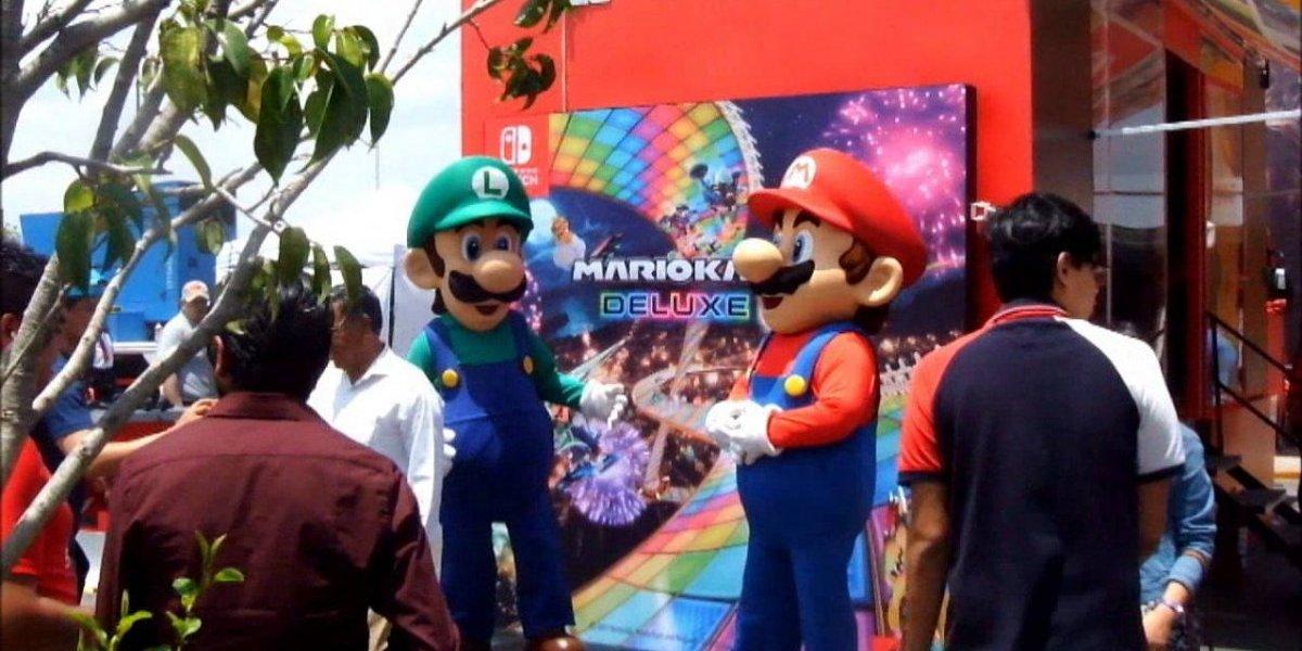 Nintendo Switch Sobre Ruedas regresa a México