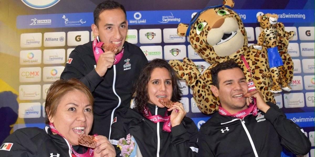 México tiene actuación histórica en el Mundial de Para-Natación