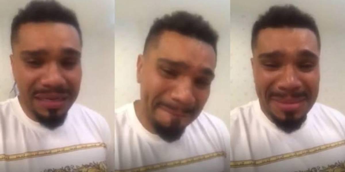 Vídeo do cantor Naldo se desculpando por agressão é criticado por internautas