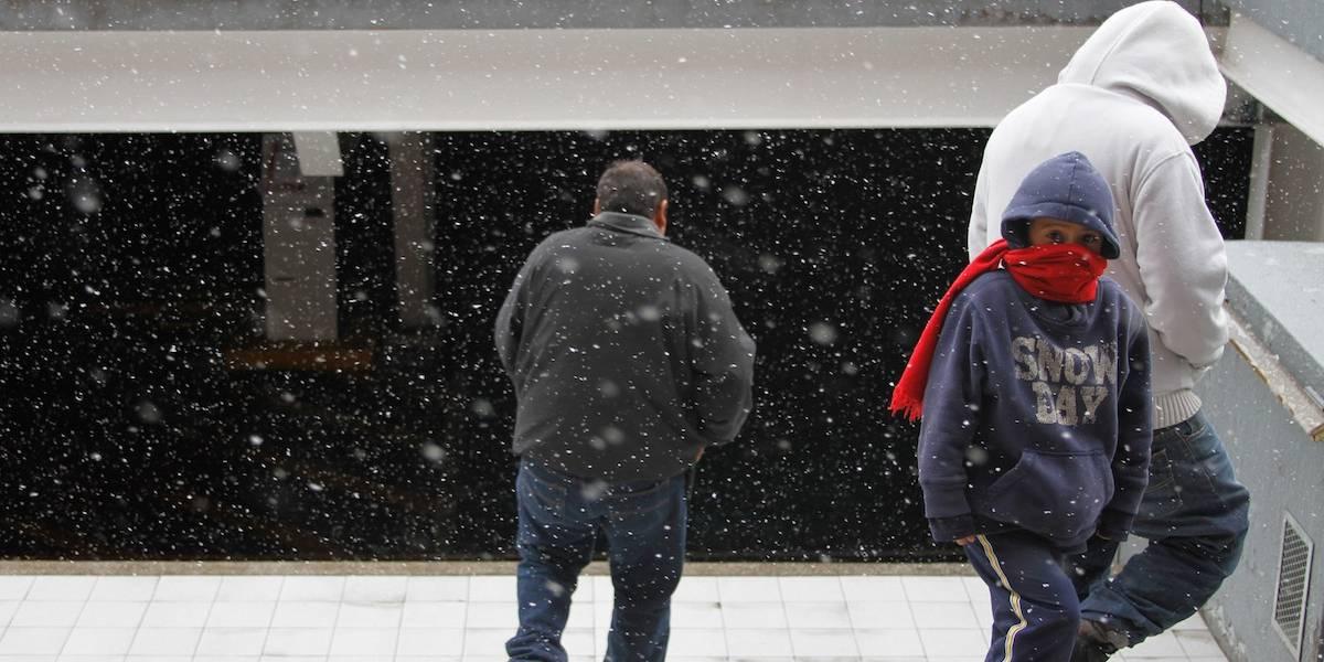 Galería: Así lucen las principales ciudades del norte del país tras nevada