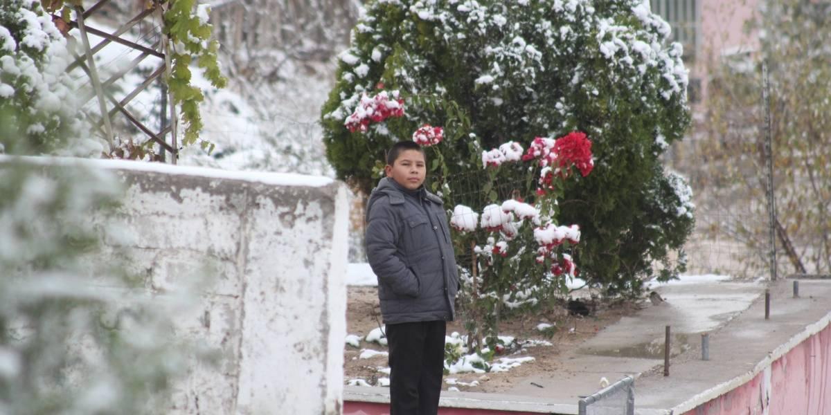 Viernes con ambiente muy frío y nevadas en el país