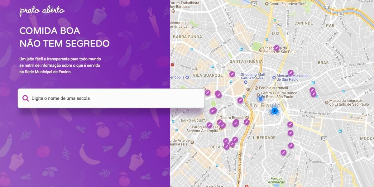 Aplicativo permite fiscalizar merenda nas escolas municipais de São Paulo