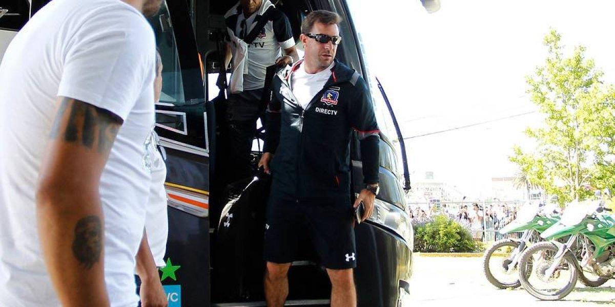 Con plantel completo y en calma: Colo Colo llegó a Concepción con la fe puesta en la estrella 32