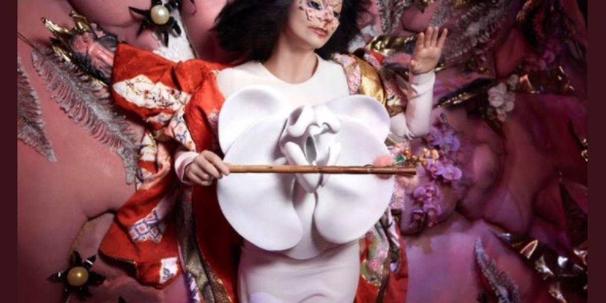 Björk, siempre experimental