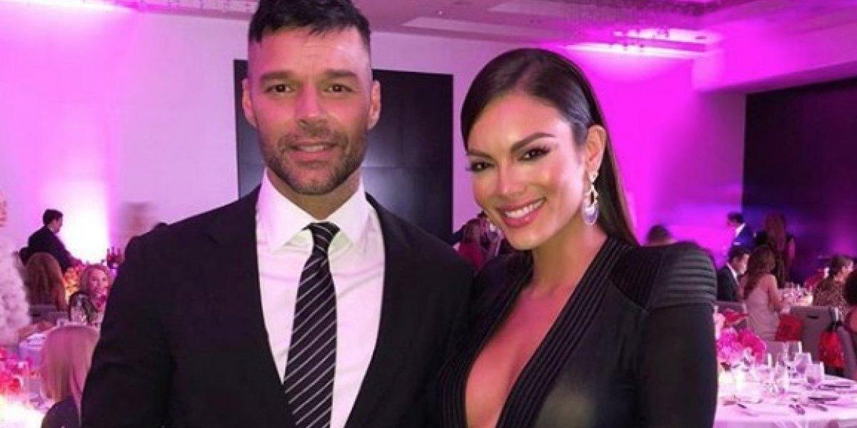 Se juntan Ricky Martin y Zuleyka Rivera