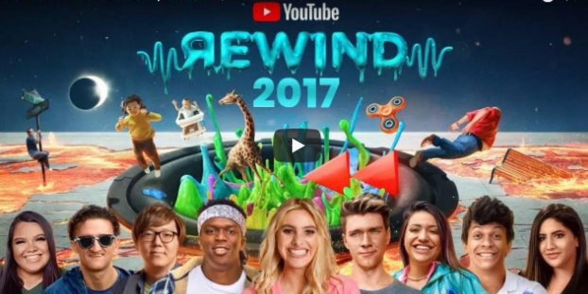 ¡Llegó YouTube Rewind! estos son los videos más vistos de 2017