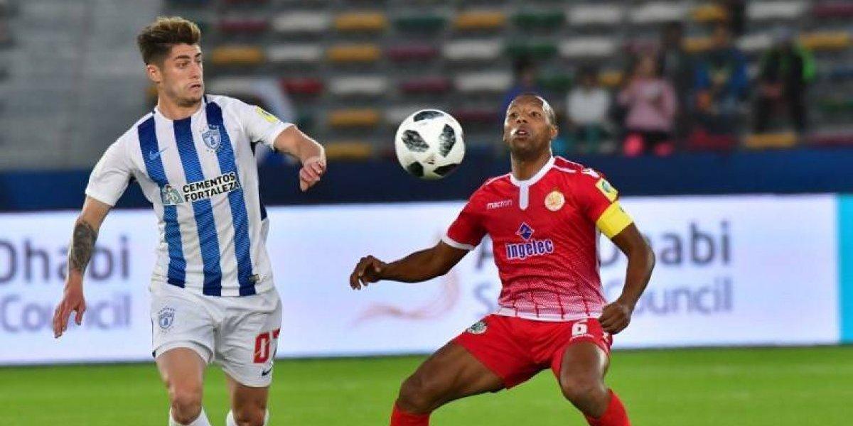 El Pachuca de Ángelo Sagal sufrió para avanzar a las semifinales del Mundial de Clubes