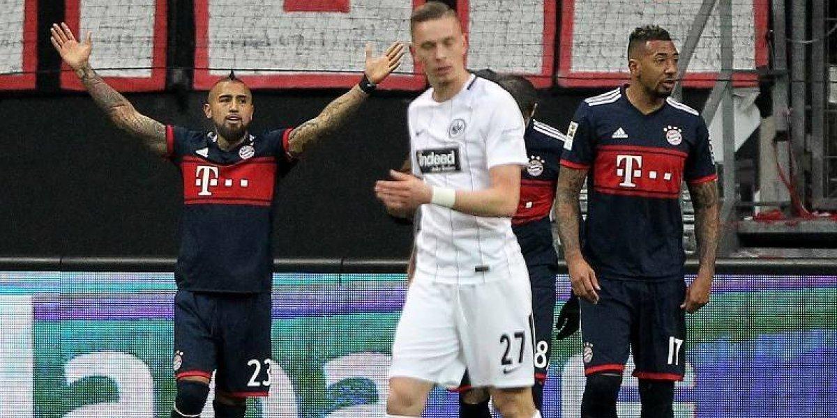 El valioso gol con el que Arturo Vidal logró un nuevo récord en Alemania