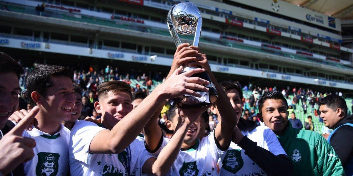 Santos Laguna campeón de la categoría Sub 17