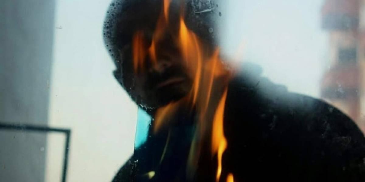 Recluso se echó Thinner y se prendió fuego en Barranquilla