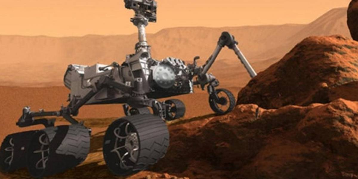 Nasa encontra matéria orgânica em Marte