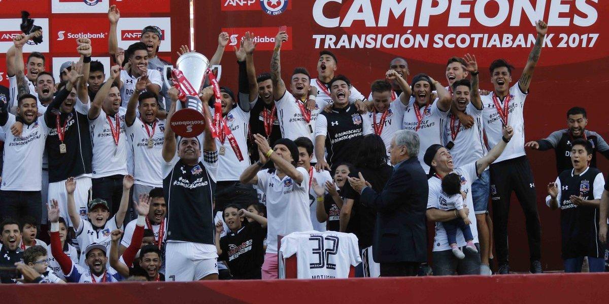 Colo Colo se sacó la mufa, no arrugó y es el flamante campeón del fútbol chileno