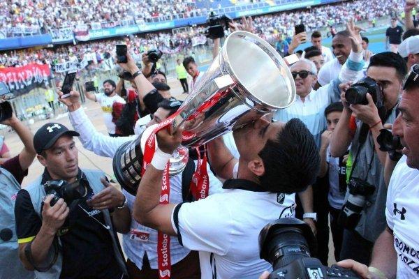 Colo Colo consiguió su copa 32 / imagen: Agencia UNO