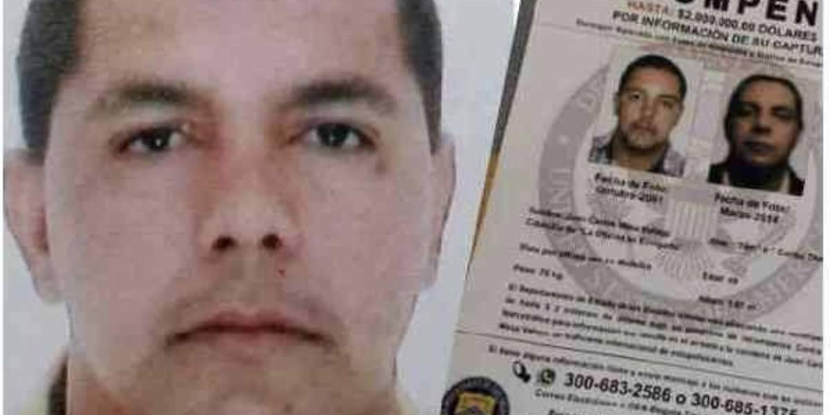 Interpol capturan a 'Tom', uno de los narcotraficantes más buscados en Colombia