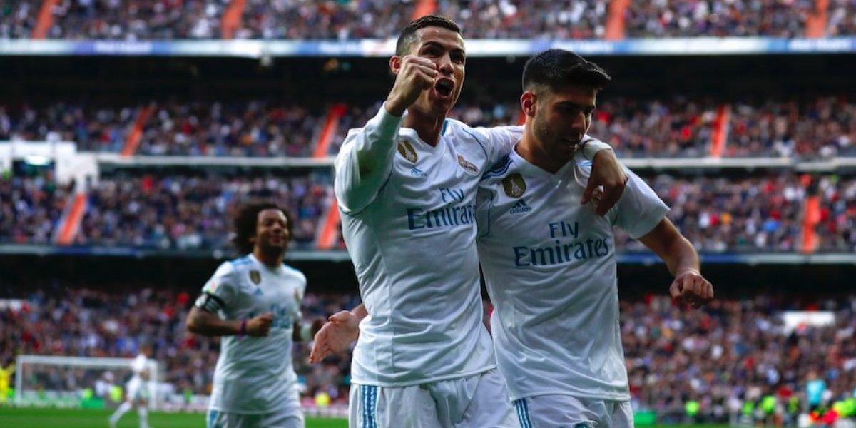 Con doblete de Cristiano, el Real Madrid golea al Sevilla