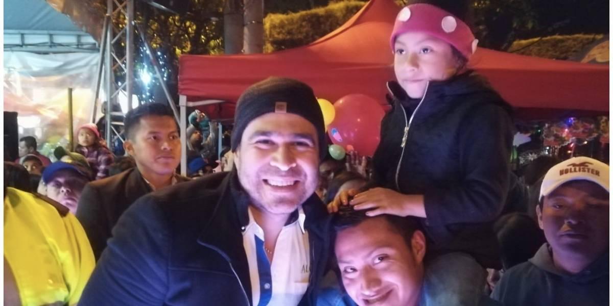 El alcalde de Mixco reveló de dónde salieron los fondos para los festejos navideños