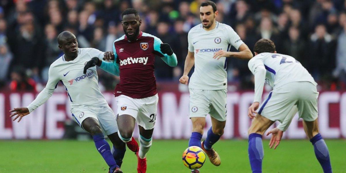 Sin 'Chicharito', el West Ham se impone ante el Chelsea