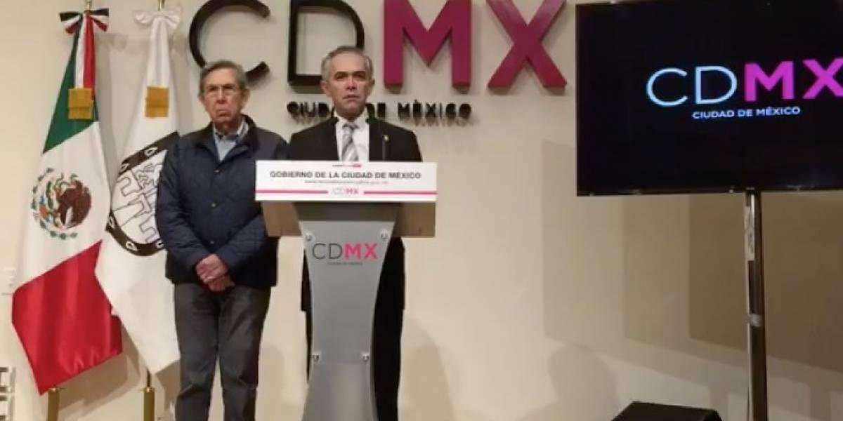 Mancera descarta candidatura presidencial; seguirá en CDMX