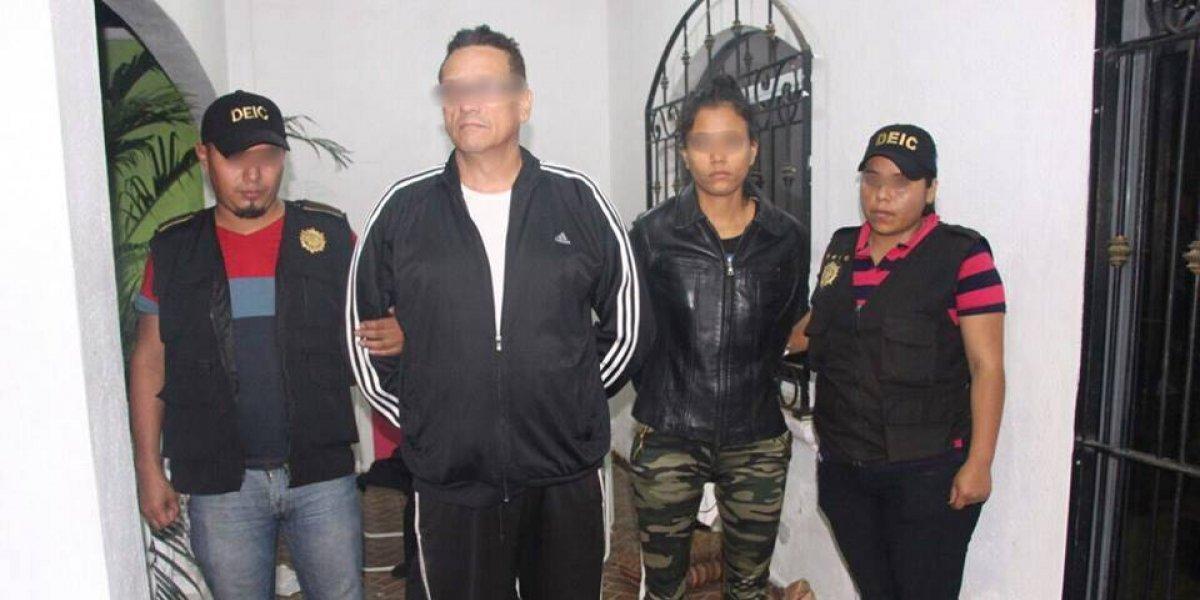 Capturan a falsos policías con armas y droga en Escuintla