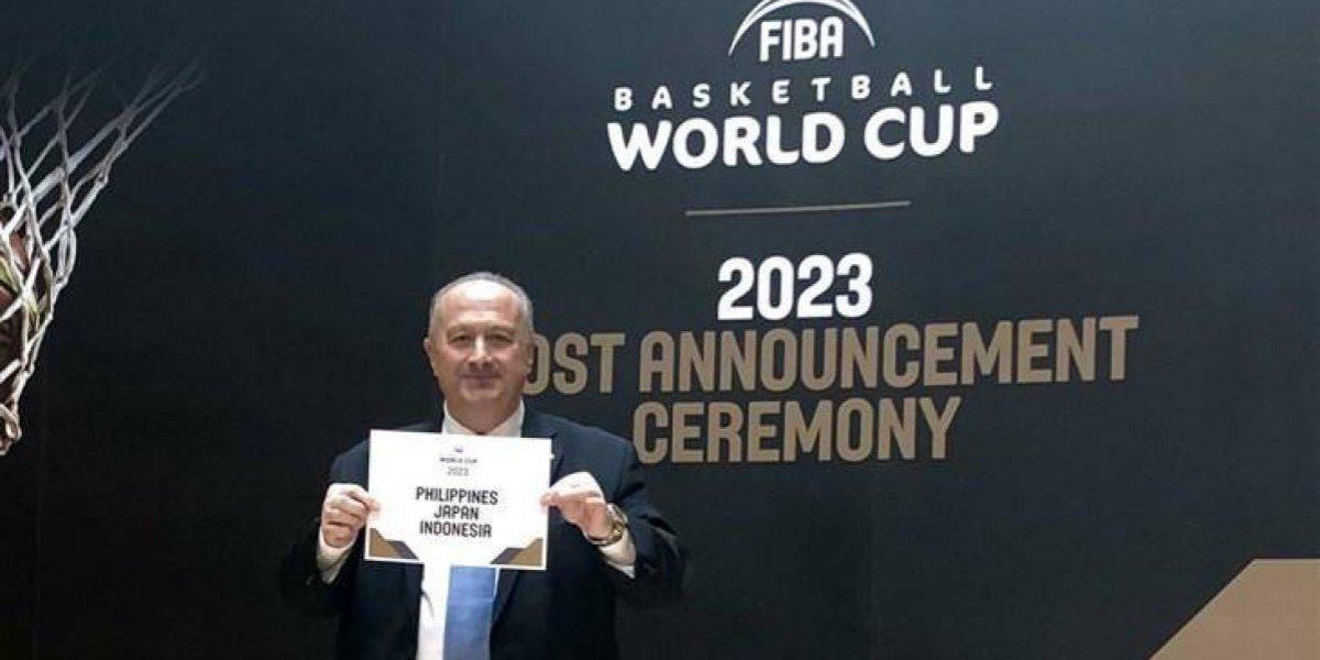 Filipinas, Japón e Indonesia serán la sede del Mundial de Baloncesto 2023